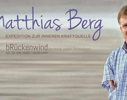 """Interview mit Matthias Berg  zu Thema """"Expedition zur inneren Kraftquelle"""""""