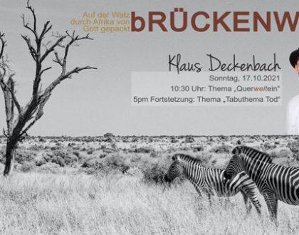 bRückenwind - Interview mit Pastor Klaus Deckenbach